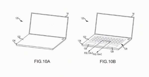Apple MaBook Keyboard Patent For Virtual Keys