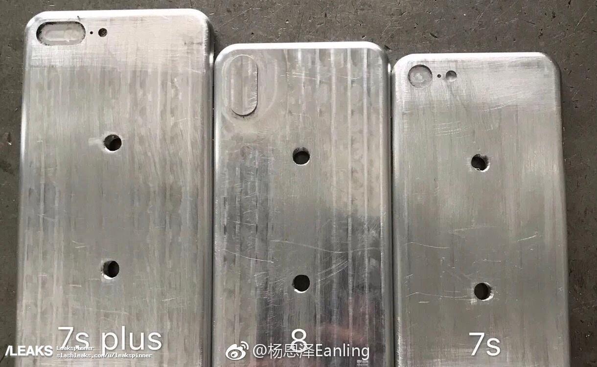 Apple iPhone 8 Molds Leaks