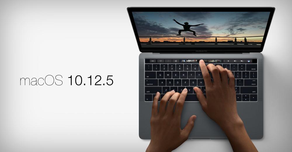 macOS Sierra 10.12.5 Update Features