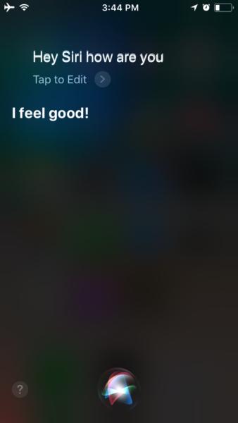 iOS 11 Siri New Interface