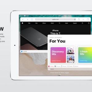 iOS 11 Concept For Multi Window