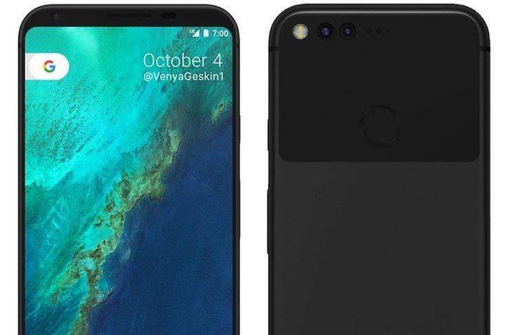 Google Pixel XL 2 Concept