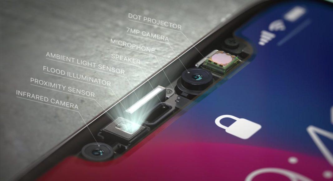 iPhone X New 3D Sensing Camera
