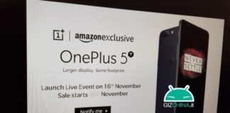 OnePlus 5T Will Arriving On 16 November