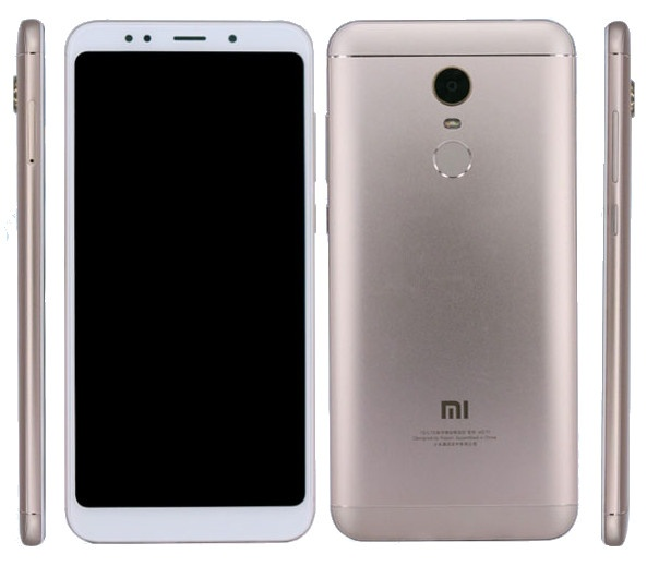Xiaomi Redmi Note 5 Spotted At TENNA