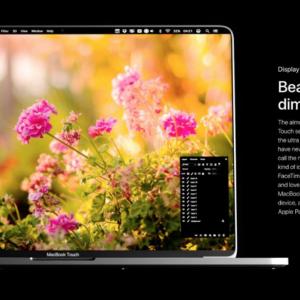 MacBook Pro Concept 2018 Display