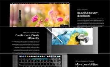 MacBook Pro 2018 Images Showing Future Concepts