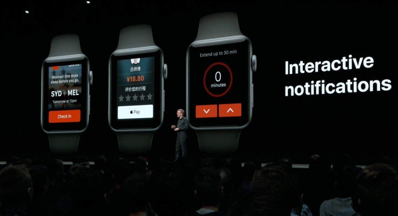 Interactive Notification In watchOS 5