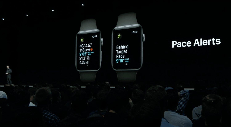 Pace Alert In WorkOut App App watchOS 5.