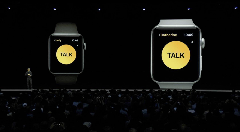 Walkie Talkie App watchOS 5