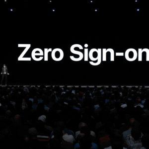 Zero Sign On tvOS 12