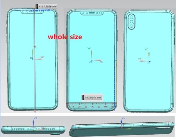 iPhone X Plus Schematics