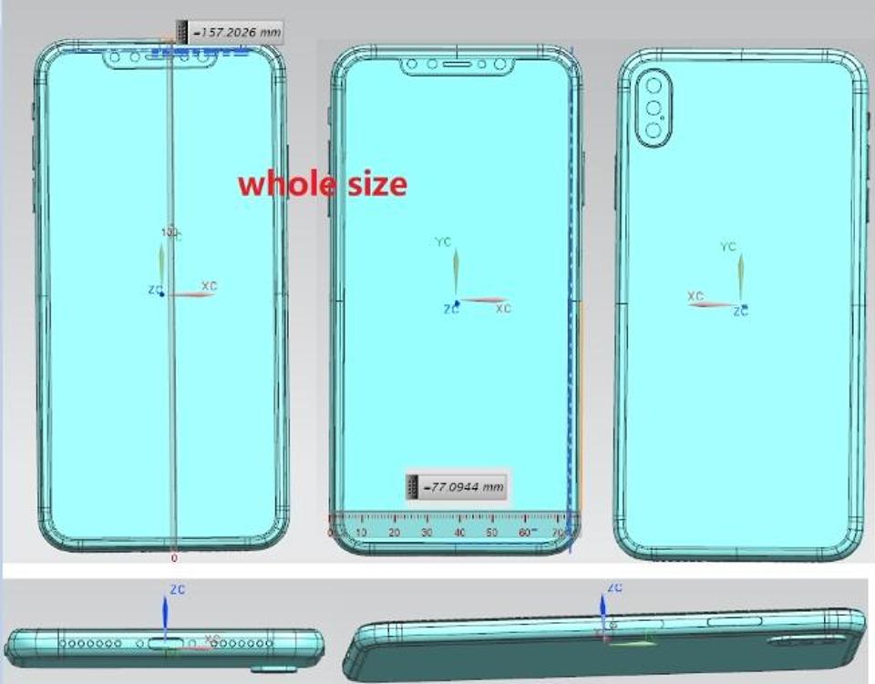 Apple iPhone X Plus 6.5 inch