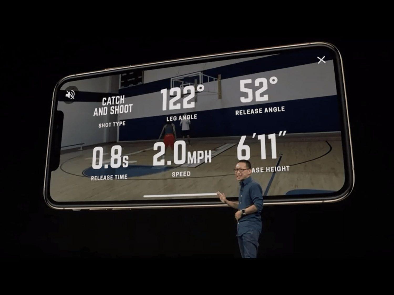 AR Capability Of 12 Bionic